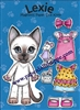 """Lexie"" Wee Kitty Bean Magnetic Doll Set"
