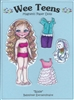 """Rosie"" Wee Teen Magnetic Doll Set"
