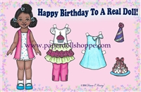 """Happy Birthday"" Well Wisher Card (D)"