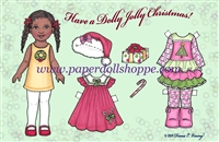 """Dolly Jolly Christmas"" Well Wisher Card (D)"