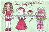"""Dolly Jolly Christmas"" Well Wisher Card (L)"