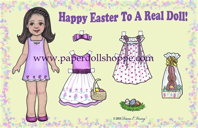 """Happy Easter"" Well Wisher Card (D)"