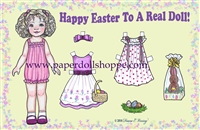 """Happy Easter"" Well Wisher Card (L)"