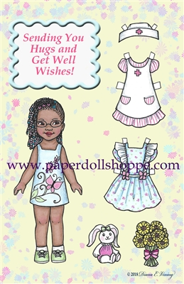 """Get Well"" Well Wisher Card (D)"