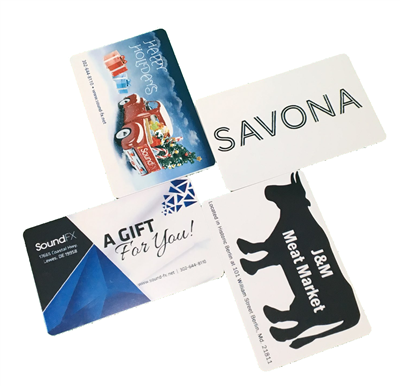 Lavu Custom Gift Cards - 100 Cards