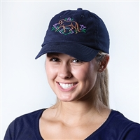 Hat, Dressage, Embroidered