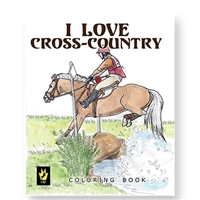 """I Love Cross Country"" by Ellen Sallas; Coloring book"