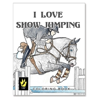 """I Love Show Jumping"" by Ellen Sallas; Coloring book"