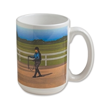 Special Moments Coffee Mug, Midday Lunging