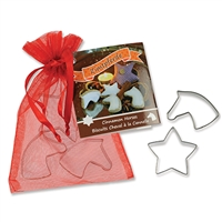 Cinnamon Horses Cookie Cutter Set