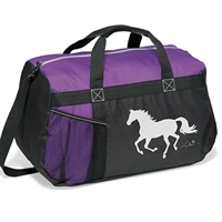 Duffle Bag, Galloping Horse