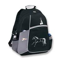 Backpack, Cantering Horse