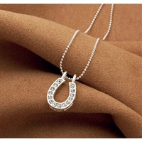 Necklaces with Rhinestone Horseshoe