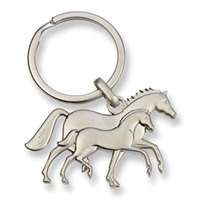 3-Dimensional Keychain, Mare & Foal