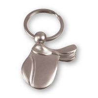 Keychain, English Saddle, 3-Dimensional, in box