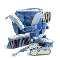 "Grooming Set, 8-Piece, ""Horseshoes"""