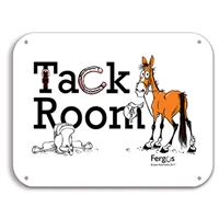 "Barn Sign, 8.5"" x 11"", Tack Room"