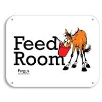 "Barn Sign, 8.5"" x 11"", Feed Room"
