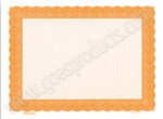Goes Lithographing #3661 Orange Certificates Close Out