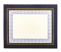 Goes 566-88 Leatherette Frame / Easel (Dark Blue-Gold)