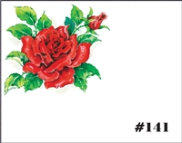 Falls 141 Enclosure Card - Red Rose