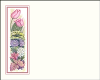 Falls 621 Enclosure Card - Assorted Flowers