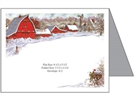 Barn Baronial Card