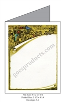Horse Drawn Carriage Baronial Card