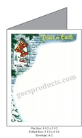 Peace on Earth Baronial Card