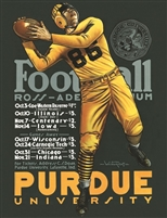 Purdue University Football Poster