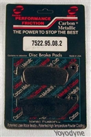 7522.95.08.2 Performance Friction Carbon Metallic Racing High Performance Brake Pad Set