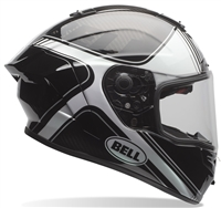 RACE STAR  TRACER GLOSS BLACK/WHITE  XS