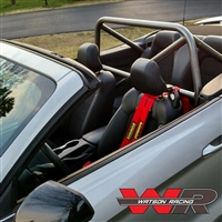 Mustang CONVERTIBLE S550 4-Point Roll Bar - Bolt in Roll Cage 2015-2017