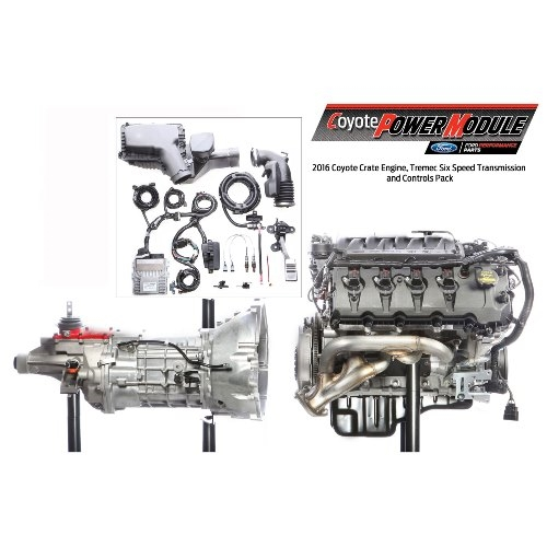 5 0l coyote power module 6 speed manual  m