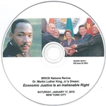 Revive Dr. Martin Luther King, Jr.'s Dream<br>New York City Jan. 17, 2015<br>DVD