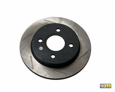 StopTech Ford Fiesta ST Rear Left Slotted Brake Rotor