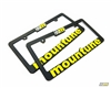 mountune License Plate Frame set