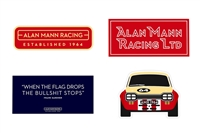 Alan Mann Racing Sticker Set