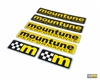 mountune Sticker Set