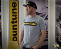 mountune Motorsport Checkered Flag T Shirt