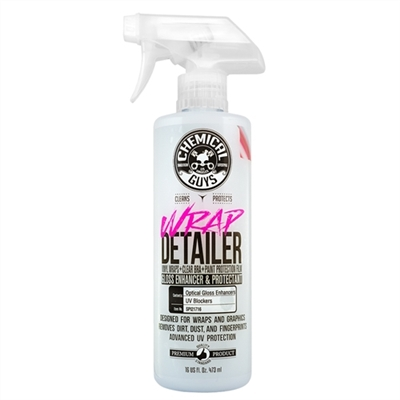 Chemical Guys Wrap Detailer Gloss Enhancer & Protectant For Vinyl Wraps