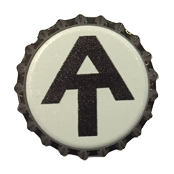 AT Bottle Cap Magnet