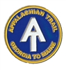 Appalachian Trail Logo GA to ME Hat Pin