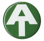 Green AT Logo Magnet