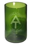 Appalachian Trail Wine Bottle Glass