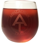 Appalachian Trail Wine Glass