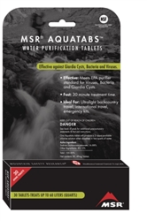 MSR Aquatabs