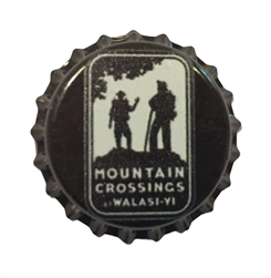 Mountain Crossings Bottle Cap Magnet