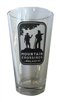 Mountain Crossings Pint Glass
