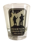 Mountain Crossings Shot Glass